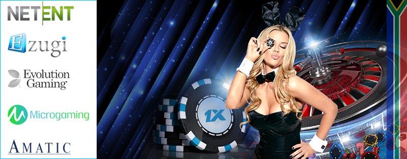 1xbet casino games companies