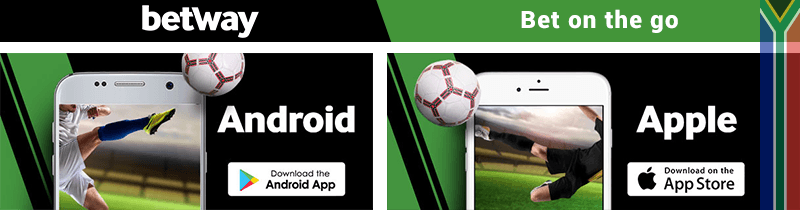 Betway Android and IOS apps