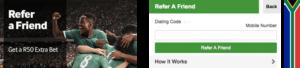 Betway reffer-a-friend