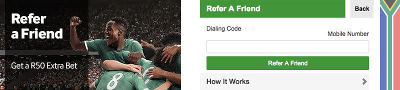 Betway reffer-a-friend