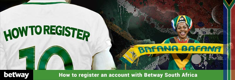 Betway account registration