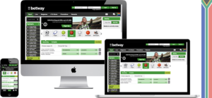 Betway South Africa website and mobile platforms