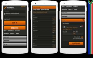 Esbn mobile view