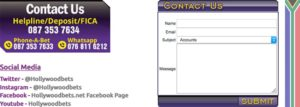 Hollywoodbets contacts