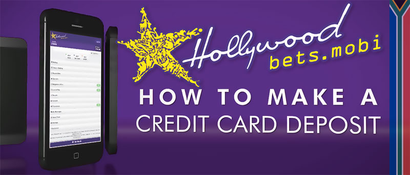 Hollywoodbets credit card deposit