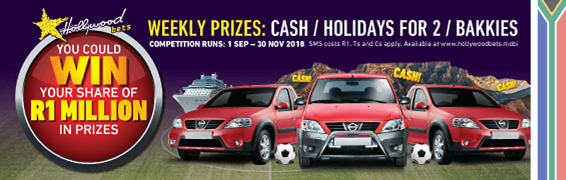 Hollywoodbets WIN – R1 Million in Prizes
