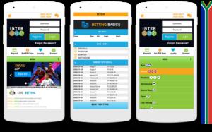 Interbet mobile view