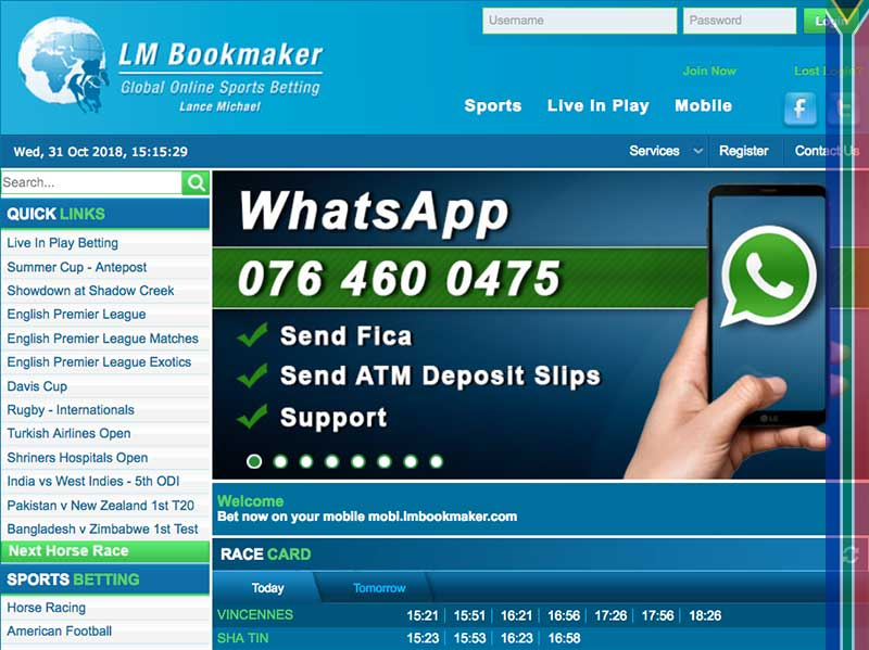 Lmbookmaker site