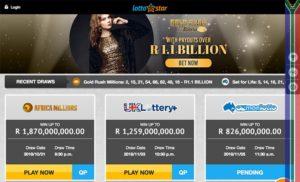 Lottostar Site