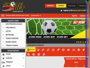 Scorebet site