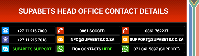 Supabets contact information