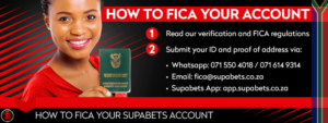 Supabets how to fica accunt