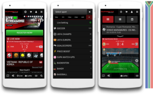 Supabets mobile view