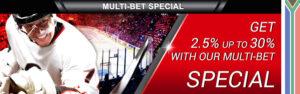 Supabets multi-bet special bonus