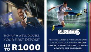 Sunbet bonuses
