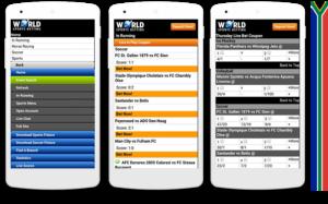 Worldsportsbetting mobile view