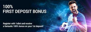 1xbet first deposit bonus