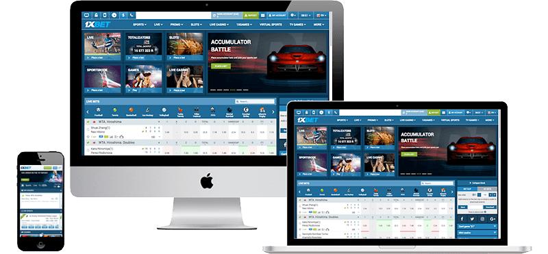 1xbet website and mobile platforms